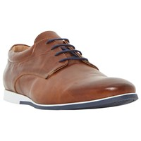Dune Bourne Gibson Wedge Shoes Tan
