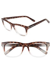 Bobbi Brown Women's 'The Bedford' 52Mm Reading Glasses Havana Crystal