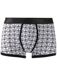 Moschino Question Mark Print Boxers Black