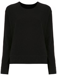 Osklen Long Sleeved Top Black