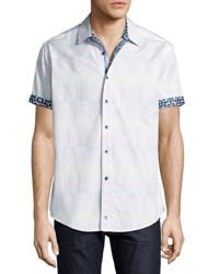 Robert Graham Mid Hills Short Sleeve Sport Shirt Multi