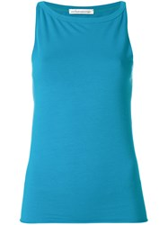 Stefano Mortari Sleeveless Tank Top Blue