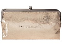 Hobo Lauren Platinum Exotic Clutch Handbags Taupe