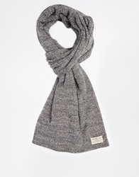 Selected Ethan Scarf Grey