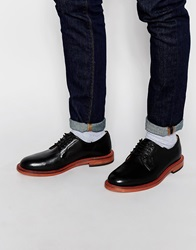 H By Hudson Daines Derby Shoes Black