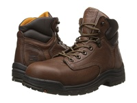 Timberland Titan 6 Safety Toe Coffee Full Grain Leather Men's Work Lace Up Boots Brown