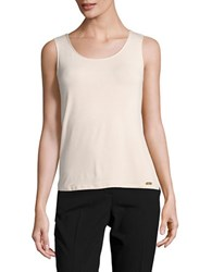 Calvin Klein Knit Tank Top Blush