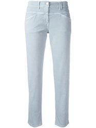 Closed Classic Cropped Trousers Blue