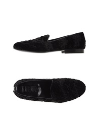 Never Ever Moccasins Black