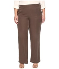 B Collection By Bobeau Curvy Plus Size Camilla Trousers Olive 1 Women's Dress Pants