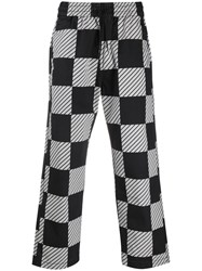 Levi's Checkered Print Drawstring Trousers 60