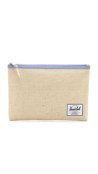 Herschel Extra Large Network Pouch Natural Hemp