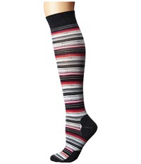 Smartwool Margarita Knee Highs Charcoal Heather Women's Knee High Socks Shoes Gray