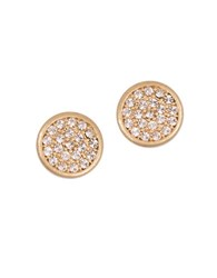 Lonna And Lilly Glitz Stud Earrings Goldtone