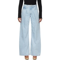 Gold Sign Goldsign Blue The Wide Leg Jeans