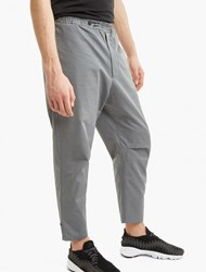 Oamc Grey Cropped Isle Trousers