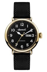 Ingersoll Trenton Automatic Leather Strap Watch 44Mm