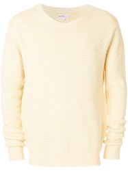 Gant Rugger The Tuck Knit Jumper Nude And Neutrals