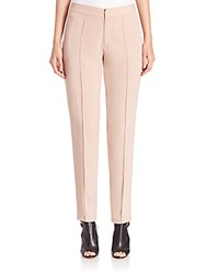 Yigal Azrouel Crepe Suiting Pants Praline