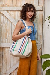 Urban Outfitters Knotted Woven Bucket Tote Bag Assorted