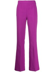 Essentiel Antwerp High Waisted Bootcut Trousers Pink