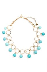 Kate Spade Women's New York Start A Movement Statement Necklace Turquoise Multi