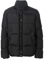 Stone Island Padded Jacket Black