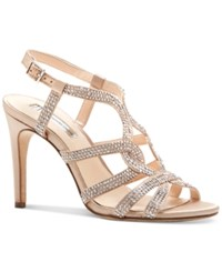 Inc International Concepts Women's Randii Evening Sandals Only At Macy's Women's Shoes Bisque