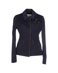 Piero Guidi Coats And Jackets Jackets Women Dark Blue