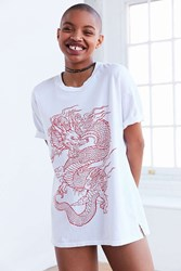Truly Madly Deeply Dragon Tee White
