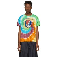 R 13 R13 Multicolor Tie Dye Grateful Dead Boy T Shirt