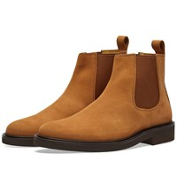 A.P.C. Simeon Suede Chelsea Boot Brown
