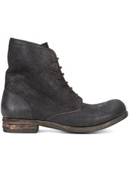 A Diciannoveventitre Lace Up Ankle Boots Brown