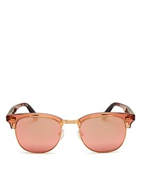 Toms Mirrored Gavin Sunglasses 50Mm Sherry Crystal Mirror