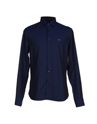 Marville Shirts Shirts Men Dark Blue