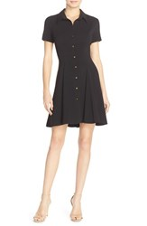 Women's Amanda Uprichard 'Naomi' Crepe Shirtdress
