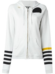 Freecity Zip Up Hoodie White