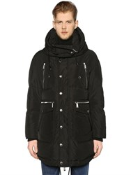 Dsquared Hooded Nylon Down Parka