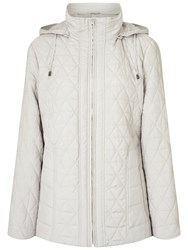 Four Seasons Quilted Jacket Silver