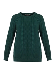 Chinti And Parker Aran Knit Wool Sweater
