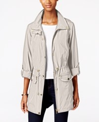 Styleandco. Style Co. Hooded Anorak Jacket Only At Macy's White Truffle