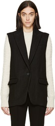 Isabel Marant Black Over Serge Heko Vest