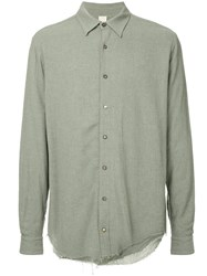 Forme D'expression Juxtaposed Shirt Grey