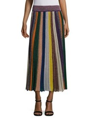 Missoni Striped Maxi Skirt Multicolor