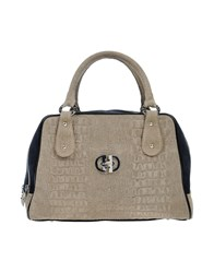 Dibrera By Paolo Zanoli Handbags Grey