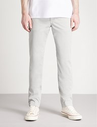 7 For All Mankind Extra Slim Stretch Cotton Chinos Cloud Grey