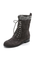 Belle By Sigerson Morrison Gretchen Lace Up Boots Lavagna