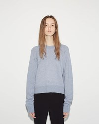 Alexander Wang Cropped Sweater Chambray