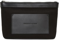 Alexander Wang Black Canvas Pouch