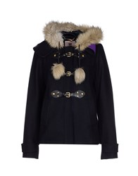 Juicy Couture Coats And Jackets Jackets Women Dark Blue
